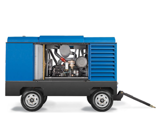 喷砂行业移动式空压机
