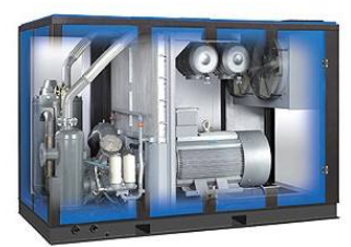 离心空气压缩机和无油螺杆空压机的对比