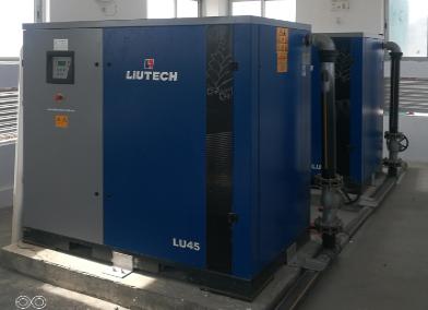 柳泰克螺杆空压机在污水处理厂的应用