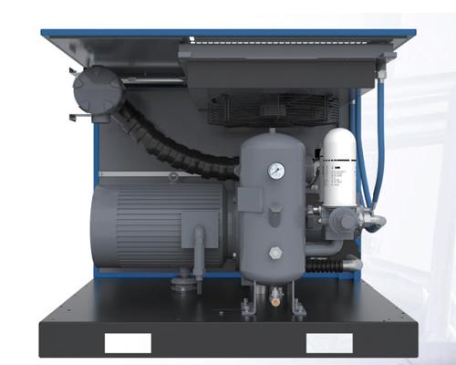 LU专业型系列螺杆式压缩机结构图