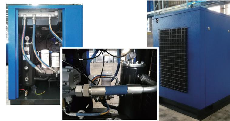 LU15螺杆空压机内部构造图