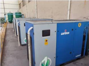 柳泰克空压机全套压缩空气系统应用铸造行业