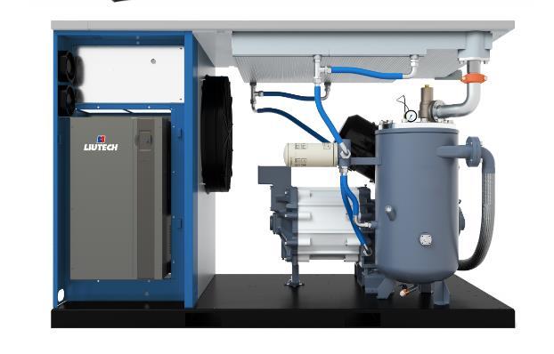 高效永磁油冷变频空压机
