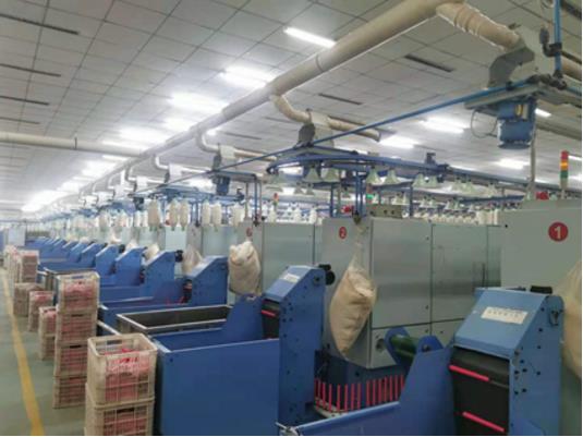 AIRnet捷能管道某纺织企业项目