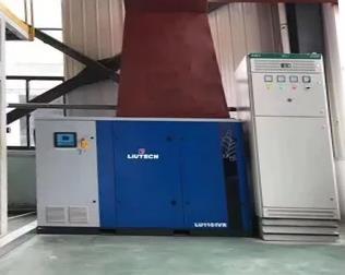 柳泰克变频空压机助力新材料行业
